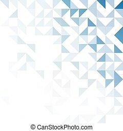 Simple triangular pattern - Geometric simple black and white...