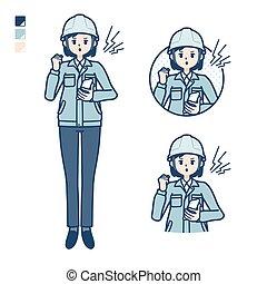 simple, uso, woman_smartphone-anger, trabajo