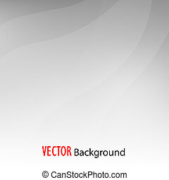 Simple Vector Abstract Background in Grey Color