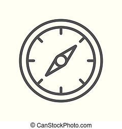 Vector Compass Rose icon