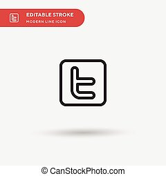 Simple vector icon. Illustration symbol design template for web mobile UI element. Perfect color modern pictogram on editable stroke. icons for your business project.