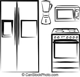 kitchen electronics