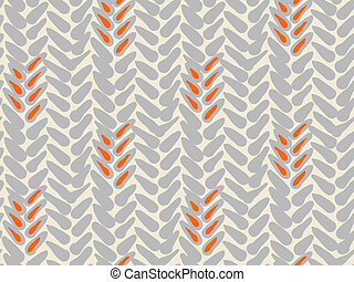 Simple vector pattern with bold brushstrokes - Simple bold...