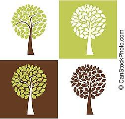 Simple vector tree set