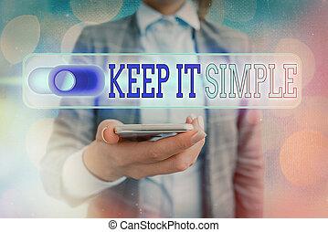 simple., veel, niet, detail., conceptueel, foto, begrijpen, ...