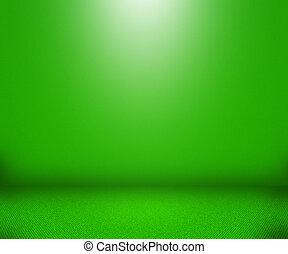 simple, vert, vide, fond