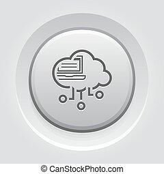 Simple Virtual Desktop Vector Icon