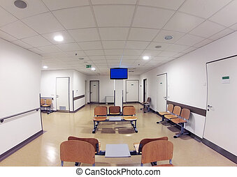 Waiting Room - Simple Waiting Room in Hospital