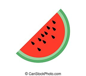 simple watermelon icon