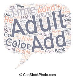 Simple Ways To Control Adult Add text background wordcloud...