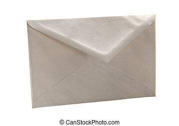 Simple white cheap envelope