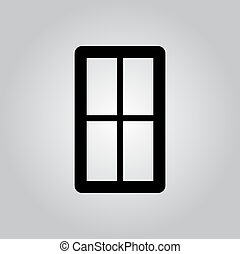 Simple window icon
