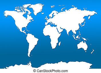 World Map - Simple World Map