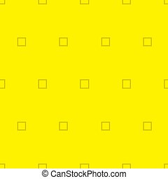 Simple yellow background with square. Vector Illustration.