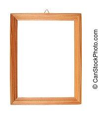 simples, armação madeira quadro