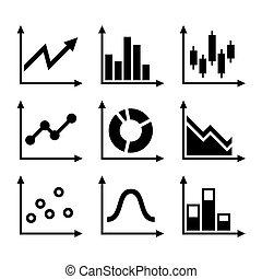 simples, diagrama, jogo, graphs., vetorial