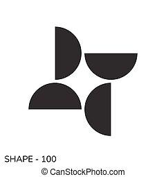 simples, forma geométrica
