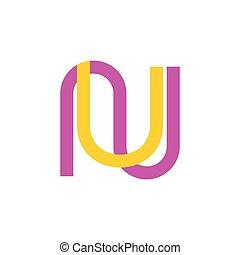 simples, logotipo, vetorial, linha, onu, letras, geomã©´...