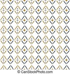 simples, monotone, rhombuses, seamless, padrão, geomã©´ricas, texture.