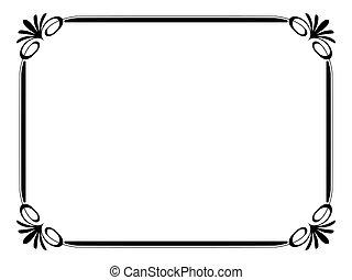 simples, ornamental, decorativo, quadro