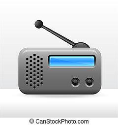 simples, rádio