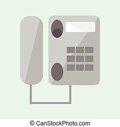 simples, telefone escritório