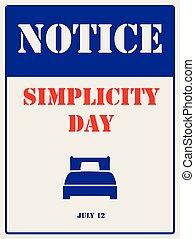 simplicité, symbole, industriel, jour