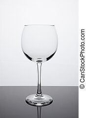 Simplicity - Empty Red Wine Glass