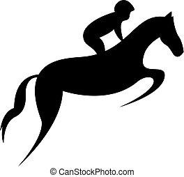 Simplified horse race