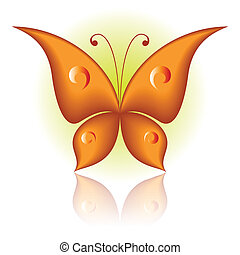Simply butterfly