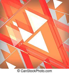 sinaasappel, abstrac, achtergrond
