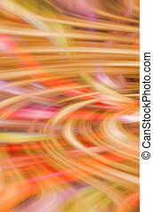 sinaasappel, abstract, -, rode achtergrond