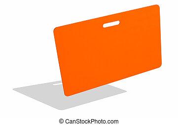sinaasappel, badge