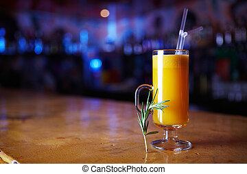 sinaasappel, cocktail
