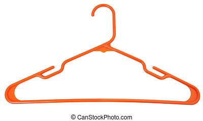 sinaasappel, hanger, plastic
