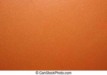 sinaasappel, muur, verf