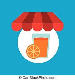 sinaasappel, online winkelend, smakelijk, sap