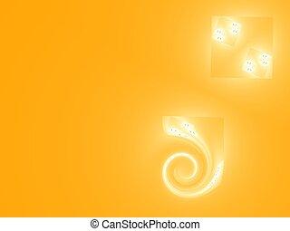 sinaasappel, spiraal, achtergrond
