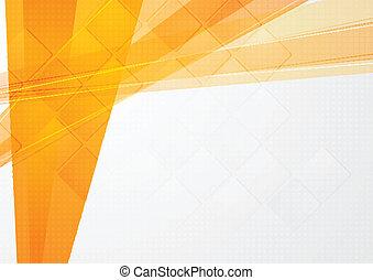 sinaasappel, technisch, abstract, achtergrond
