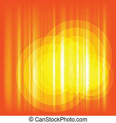 sinaasappel, vector, achtergrond
