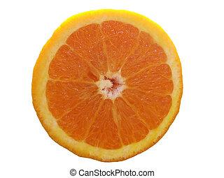 sinaasappel, vrijstaand