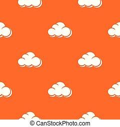 sinaasappel, web, vector, wolk, model