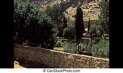 Sinai Saint Catherine Monastery walls - UNESCO World...