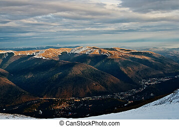 Sinaia landscape