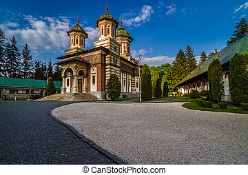 Sinaia Monastery Romania - The Sinaia Monastery, a monastery...