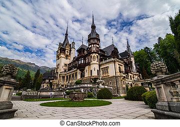 sinaia, peles, rumania, castillo