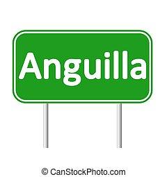 sinal., anguilla, estrada
