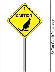 sinal canguru