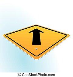 sinal direção