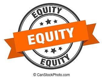 sinal., equityround, capital próprio, label., selo, faixa